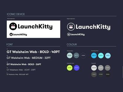 Launch kitty web illustration branding vector logo drawing ui graphic design