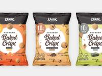 Spark Crisps Package Design packagedesign branding design graphic package design package