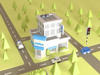 Small house city model
