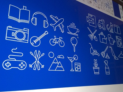 Misc Icons chores hobby hobbies activity icon
