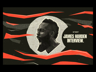 TV Network Rebrand Concept digital illustration hawks rockets ali adams design branding tv app tv show rebrand tv snoop dogg basketball james harden sports
