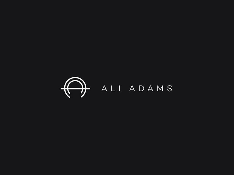 Ali Adams Brand Identity - Logo design logo portfolio web website digital branding ali adams
