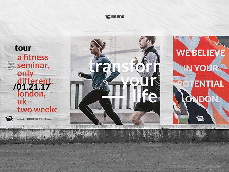Bserk Make IT Tour Posters poster bserk sports design logo portfolio web website digital branding ali adams