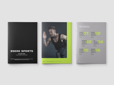 Bserk Editorial bserk sports workout gym design logo portfolio web website digital branding ali adams