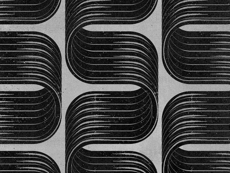 Grille mural pattern branding adams ali ali adams art print wavy wave line distressed geometric lines design grille
