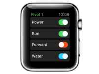 AgConnect watchOS Controls