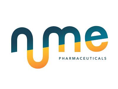 NuMe Pharmaceuticals Logo branding logo