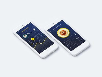 Nommi - Smart eating app for kids app ux ui