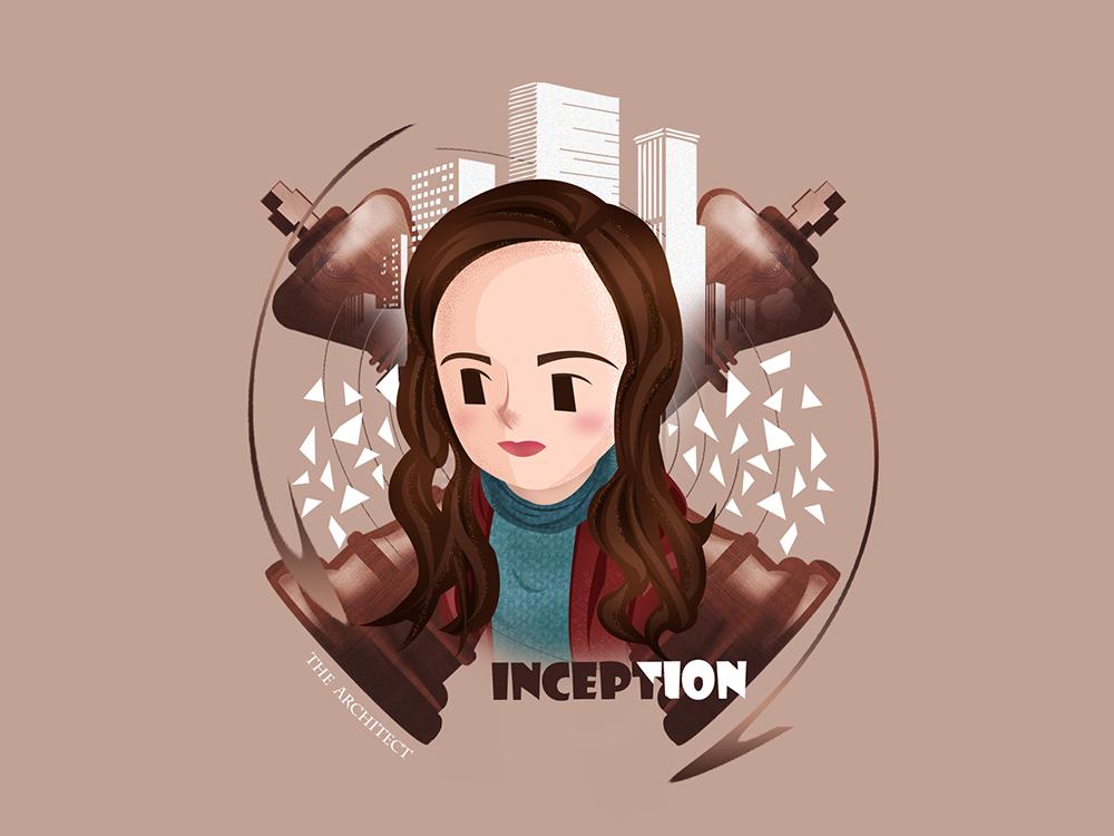 Inception-Ariadne inception illustration