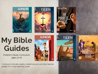 My Bible Guides Children's Bible Study Guides (ages 10-18)
