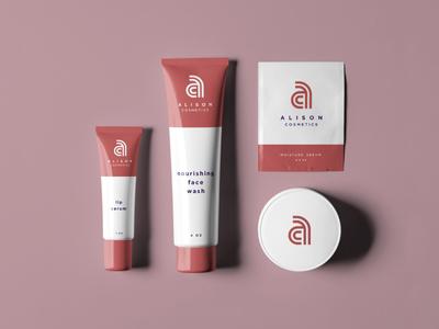 Alison Cosmetics: Packaging