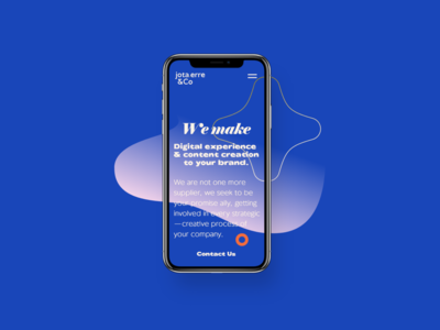 Homepage Interaction ✶ Mobile Adaptive Design
