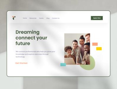 Teachers Academy  — Landing Page
