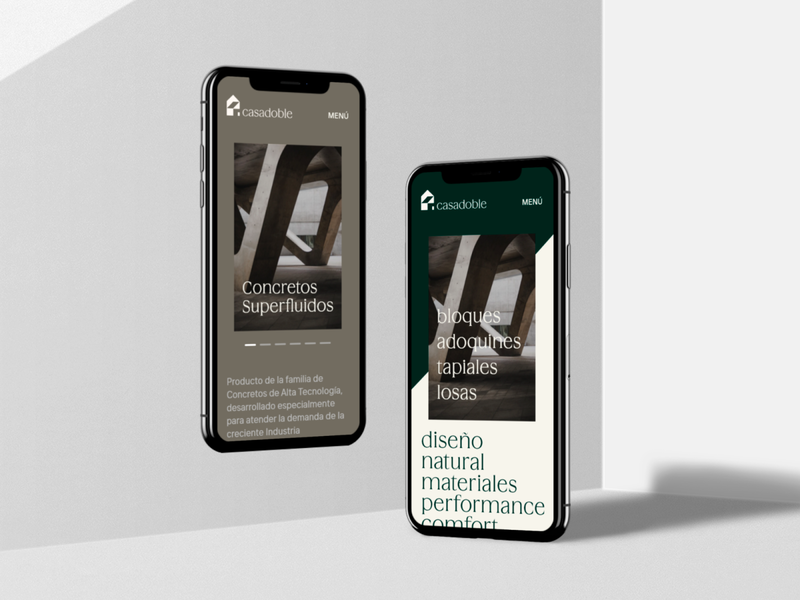 Mobile Design Interaction for  ➺ casadoble interaction design mobile design adaptive design casadoble eddesignme logo design brand identity