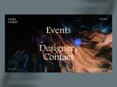 Daily UI Challenge #119 to #365 ➺ Delightful Menu web design fashion design layout exploration delightful eddesignme art direction user experience user interface design