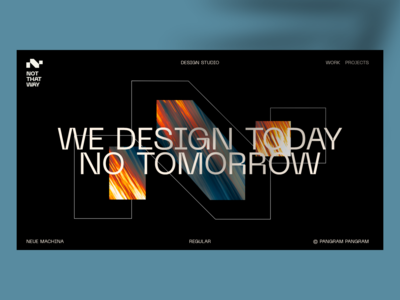 Daily UI Challenge #121 to #365 ➺ Delightful Homepage sequential art title design layout design delightful eddesignme agency website art direction user experience user interface