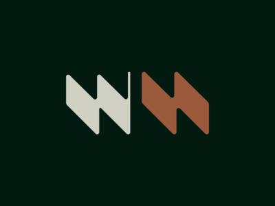 Workhard workhard eddesignme brand identity lettering logo abstract logo