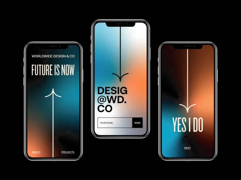 Future is now mobile ui eddesignme user experience user interface interaction design mobile design