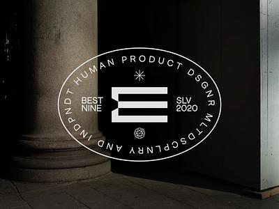 BESTNINE ⤷ 2020 identity design branding concept el salvador concept design art director monogram logomark personal brand product designer eddesignme bestnine