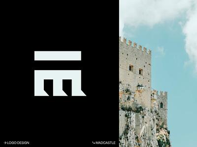 Madcastle Studios — Brand lettermark brand experience castle monogram letter mark eddesignme el salvador madcastle studios logo design monogram logo