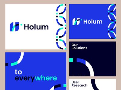 Holum startup branding el salvador eddesignme app design user experience brand exploration driver app pitchdeck brandbook brand identity holum