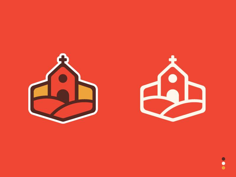 Church — monogram — identity studio church strategy logo identity branding