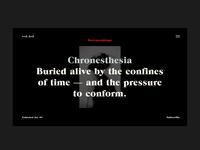 + Chronesthesia +