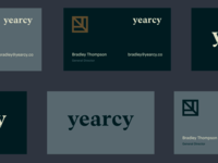 'yearcy' — Brand Stationery