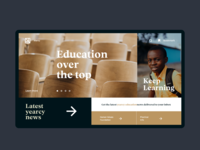 ▴ yearcy | Education - One Page Interaction▴