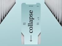 Collapse—Lettermark Mobile Interaction