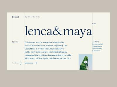 Lenca & Maya — Central American lands