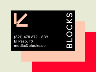 BLOCKS — Business Cards