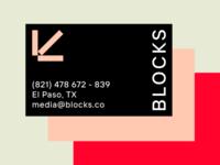 BLOCKS — Business Cards