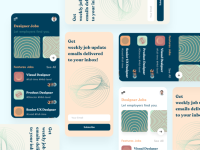 Designer Jobs — Mobile App