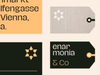 enarmonia & Co  — Identity System