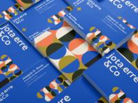Visual identity construction for jotaerre & Co ✦