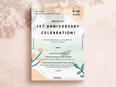1st Anniversary | Event