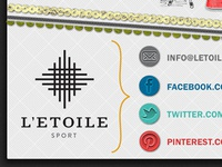 letoilesport.com finished infographic detail {social / footer }
