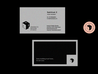 Invencio Design Studio brand design collateral design studio architecture icon graphic design design branding logo