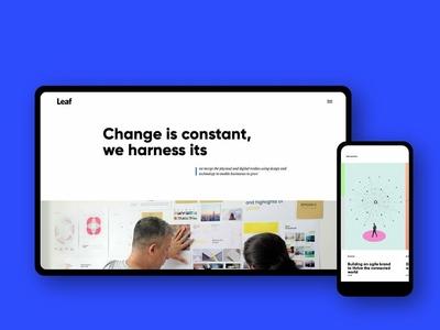 Website link: leafdesign.in illustration website ui ux web branding design experience design