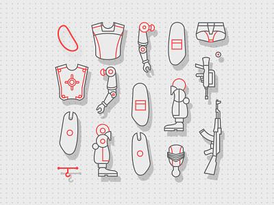 Ji I Joee Dismantle vector design icon graphic design illustration toy ji i joee