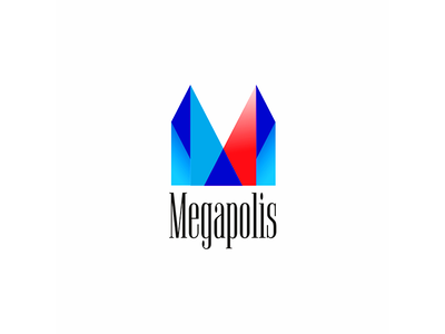 Logo Megapolis ux ui dribbble idea symbol tipography logomark logo brand design vector print icon mark identity design logotype branding