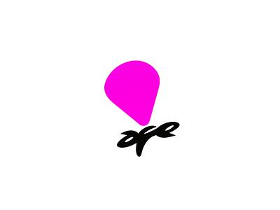 Parachute company ux ui dribbble idea symbol tipography logomark logo brand design vector print icon mark identity design logotype branding