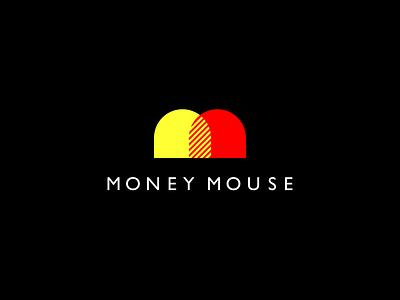 Logo Money Mouse ux ui dribbble idea symbol tipography logomark logo brand design vector print icon mark identity design logotype branding