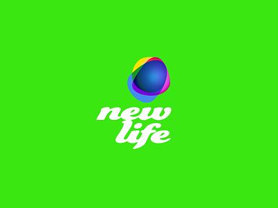 New life company ux ui dribbble idea symbol tipography logomark logo brand design vector print icon mark identity design logotype branding