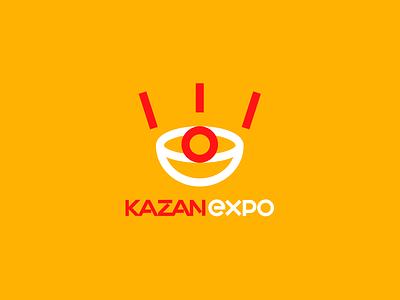Kazan expo logo ux ui dribbble idea symbol tipography logomark logo brand design vector print icon mark identity design logotype branding
