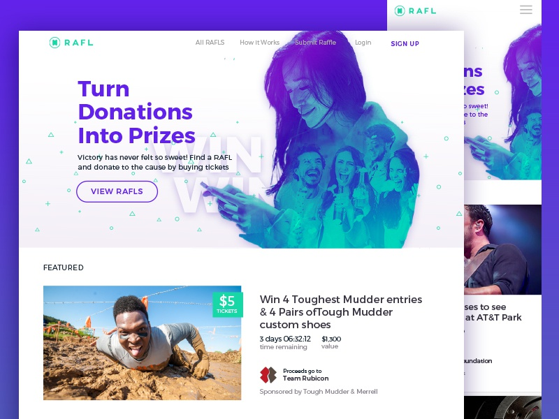 RAFL Homepage | Search by Muzli