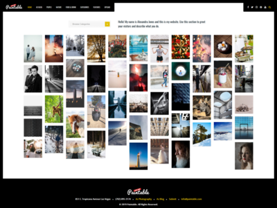 Paintable - Photography Theme