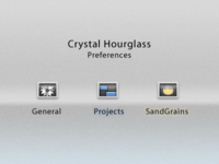 Crystal Hourglass - Preference Icons
