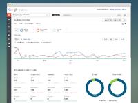 Google analytics redesign dribble